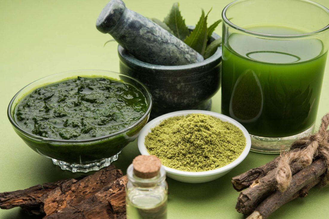 Ayurvedamedizin_Heilkraeuter-Pasten-fuer-Therapie